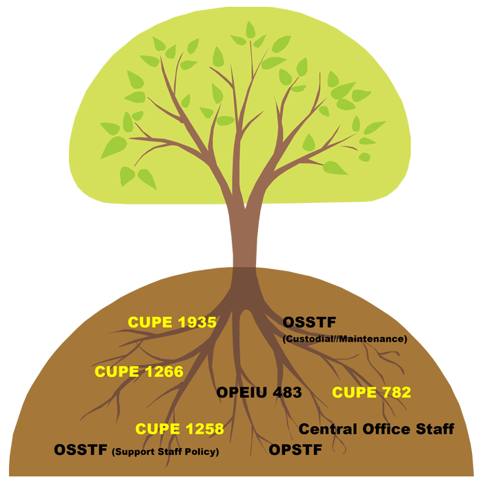 CUPE 5678 Family Tree